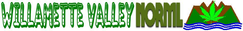 Welcome to the Willamette Valley NORML News page.  Click here to go Home